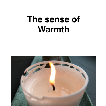 The sense of warmth – Andreas N. Bjørndal