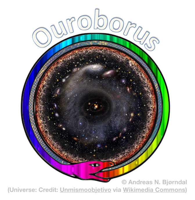 Ouroborus, eating the tale with the head – by Andreas N. Bjørndal