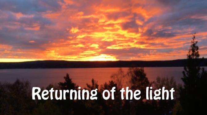 Returning of the light – Andreas N. Bjørndal